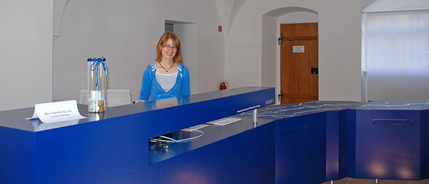 Herzlich Willkommen im Aueninfozentrum