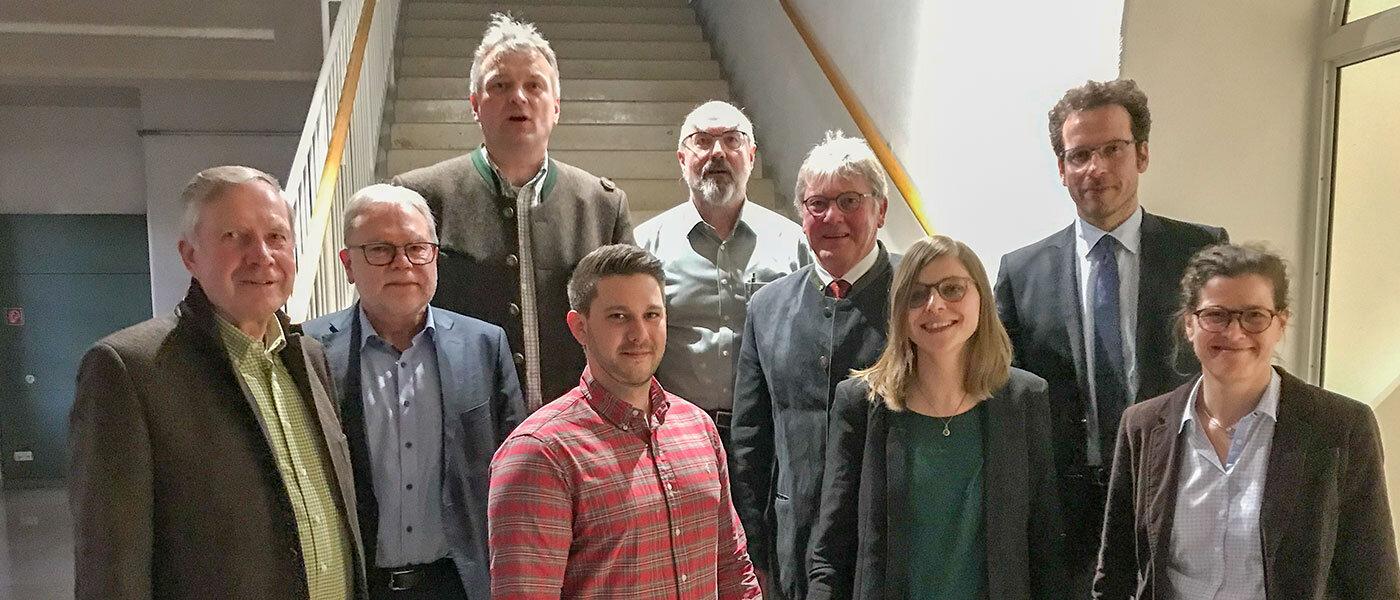 Vorstandschaft mit den Preisträgern 2019