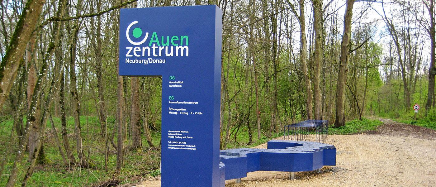Auenzentrum Neuburg-Ingolstadt: drei Säulen unter einem Dach