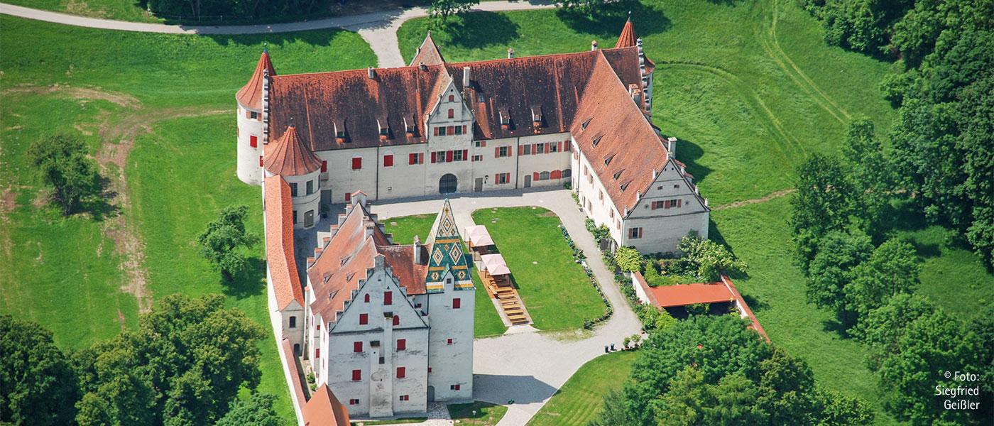Es lohnt sich ein Besuch im Schloss Grünau!